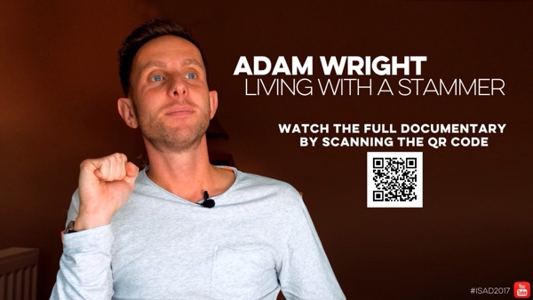 Adam Wright - Living with a Stammer. photo
